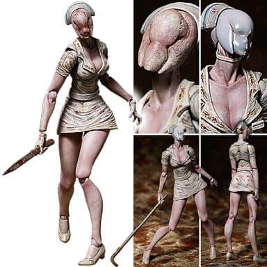 Figma Bubble Head Nurse Silent Hill 2 Toys Figures Hobbies