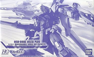 1/144 HGUC MSN-001A1 Delta Plus InnerSpace Clear Ver. 「 MOBILE SUIT GUNDAM UC 」 Premium Bandai only [0177321]
