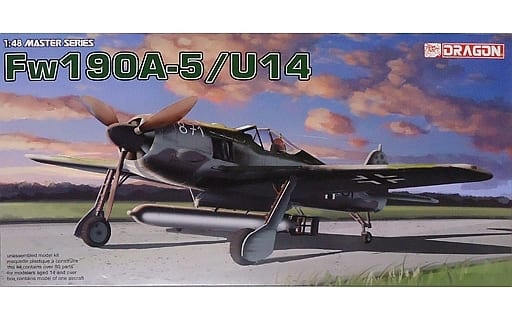 1/48 WW. II German Air Force Focke-Wulf Fw190A-5/U14 Raking [DR5569]