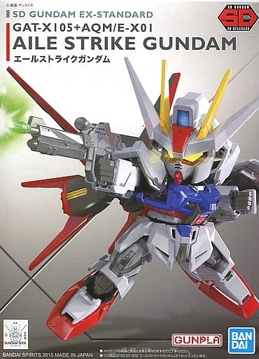 GAT-X105 + AQM/E-X01 Ale Strike Gundam 「 MOBILE SUIT GUNDAM SEED 」 SD Gundam EX Standard