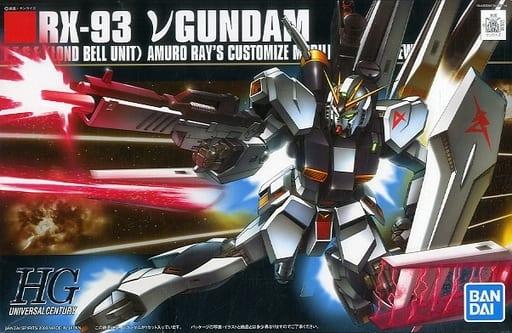 1 144 Hguc Rx 93 Nu Gundam Mobile Suit Gundam Char S Counterattack Toy Hobby Suruga Ya Com