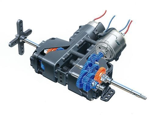 5-speed Twin Gearbox HE 「 TechniCraft Series 」 [72009]