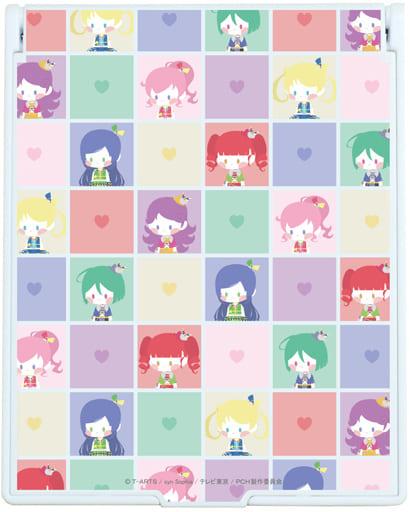 01. Block pattern design Big Character Mirror 「 Kiratto Pri Chan 」