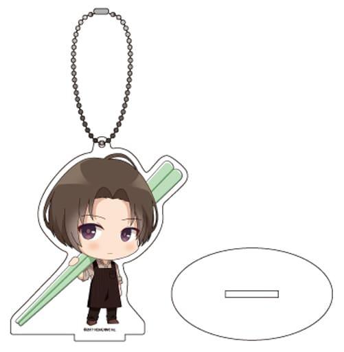 04. Watashi to (Photo Kyara) Acrylic Stand Key Holder 「 MakeS - Good morning, my Say - 」