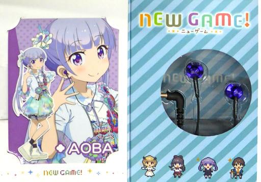 Cool Breeze Aoba Model Inner Ear Headphone SE-CL522 「 NEW GAME! 」