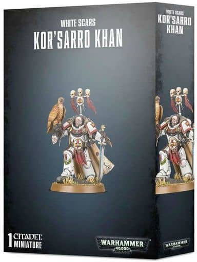 White Scar Thurlow Khan 「 War Hammer 40.000 」 (Kor' sarro Khan) [48-88]