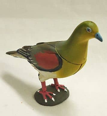 114 White-bellied Green Pigeon 「 Chocolate Egg The 4 th Japanese Animal Collection 」