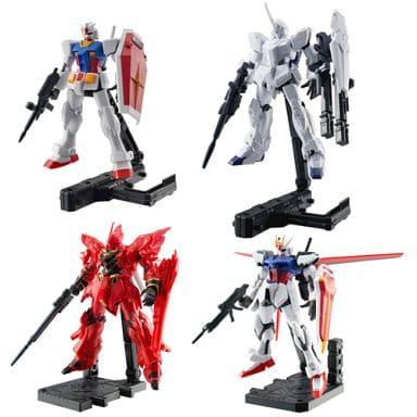 Set of 4 Kinds 「 Mobile Suit Gundam ASSAULT KINGDOM 」