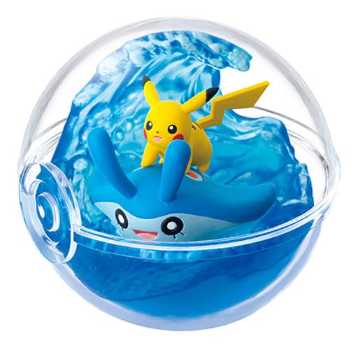 2. Summer Sea Adventure (Pikachu & Mantyke) 「 Pocket Monsters TerrArium Collection ~ Amidst the Season ~ 」
