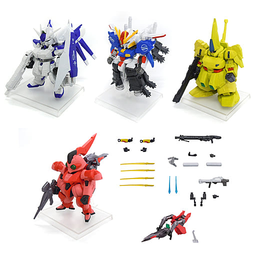 Set of 5 Kinds 「 FW GUNDAM CONVERGE #Plus02 」
