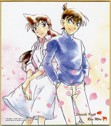 8. Shinichi Kudo & Ran Mori 「 Detective Conan Shikishi ART4 」