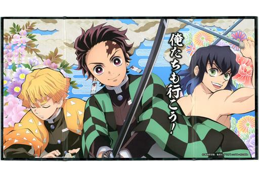 7. Kamado Sumijiro & Agatsuma Zenitsu & 嘴平 Inosuke 「 Demon Slayer: Kimetsu no Yaiba miniature folding screen Collection 2 」