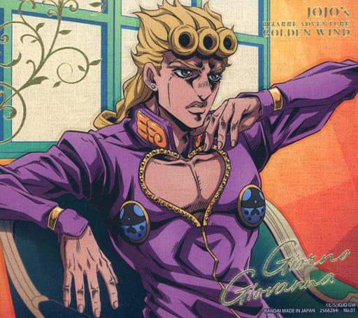 1. Giorno Giovanna (pressed with gold leaf) 「 JOJO'S BIZARRE ADVENTURE Ogon-no-kaze canvas style - canvas style - 」