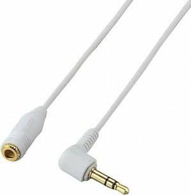 Headphone extension cable / 3m / WH