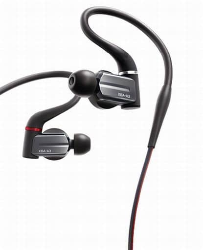 Sony Stereo Ear Receiver [XBA-A3]