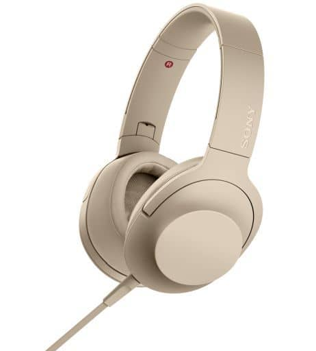 Sony Stereo Headphones h.ear on 2 (Pale Gold) [MDR-H600A(N)]