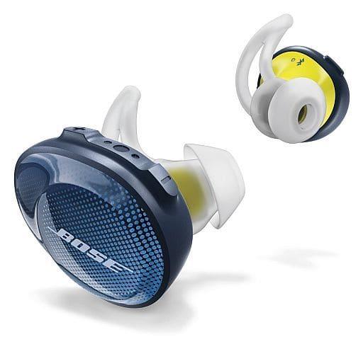 BOSE SoundSport Free Wireless Headphones (Midnight Blue x Yellow Citron) [SSPORT FREE BLU]