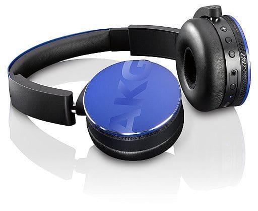Harman AKG Bluetooth Wireless On Ear Headphones Y50BT (Blue) [Y50BTBLU]