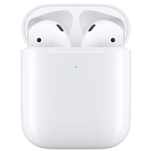 Apple Bluetooth Wireless Earphones AirPods with Wireless Charging Case (2 nd Generation) [MRXJ2J/A]
