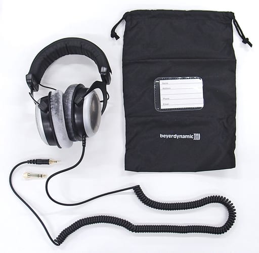 Parallel imported product beyerdynamic Semi-open type overhead headphones [DT-880 PRO]
