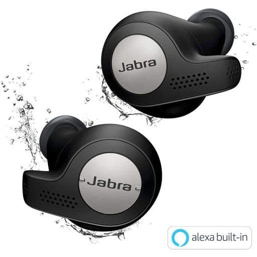 Jabra Full Wireless Earphone Elite Active 65t (Titanium Black) [100-99010002-40]