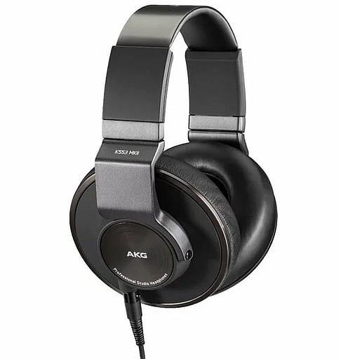Hibino AKG Closed Headphones K553 MK II [K553 MKII-Y3] (Condition: Box condition difficult *Including inner box)
