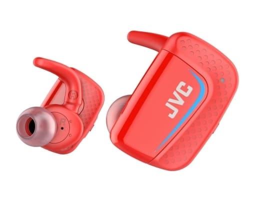 JVC Wireless Stereo Headset (Red) [HA-ET900BT-R]