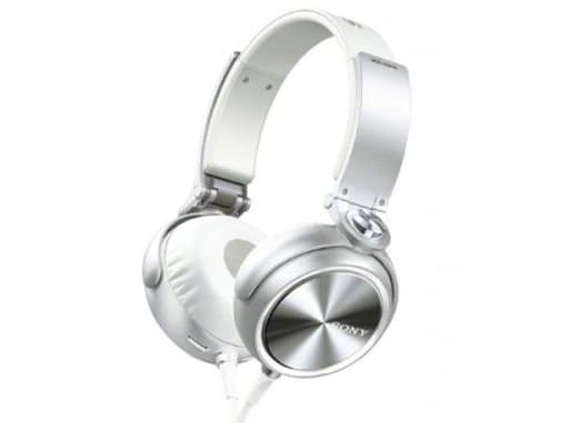 Sony Stereo Headphone (White) [MDR-XB610 (W)] (Condition : Description Missing / Body Condition Not Good)