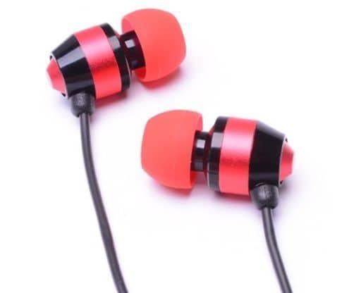 ALPEX Dynamic Earphones HSE-A1000 (Red) [HSE-A1000R]
