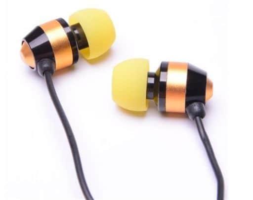 ALPEX Dynamic Type Earphones HSE-A1000 (Yellow) [HSE-A1000YE]