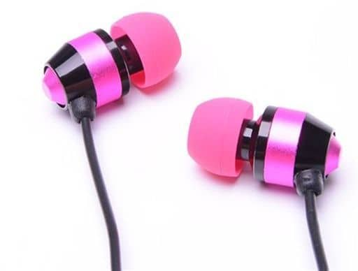 ALPEX Dynamic Earphones HSE-A1000 (Pink) [HSE-A1000PK]