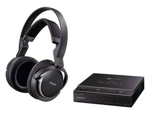Sony Digital Surround Headphone System [MDR-DS7000] (Status : Processor Unit, Headphone Unit, Stand Status Failure)