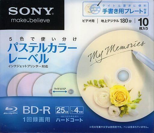 Sonny BD-R 25 gb Pastel Color Label 10 Pack [10BNR1VHCS4]
