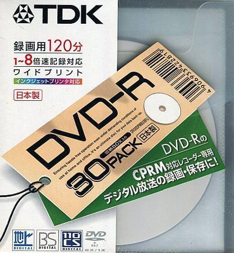 TDK Recordable DVD-R 4.7 gb 8 x 30 Pack [DR120DPWB30BFU]