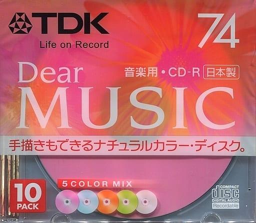 TDK Music CD-R DEAR MUSIC 650MB 10-sheet pack [CD-RDE74CMX10N]