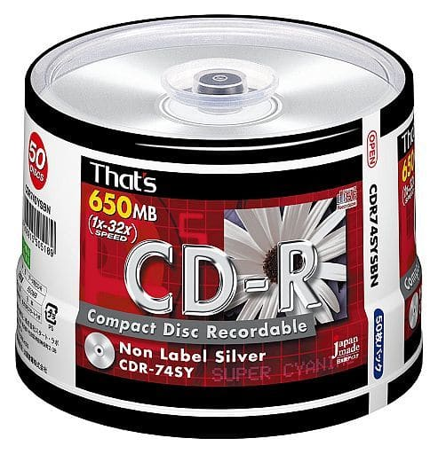 Start Lab / TAIYO YUDEN Data CD-R ThatS 650MB 50 Sheets Pack [CDR74SYSBN]