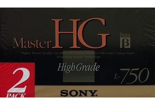 Sony Beta Video Cassette Tape Master HG L-750 2 Pack [2L-750MHGB]