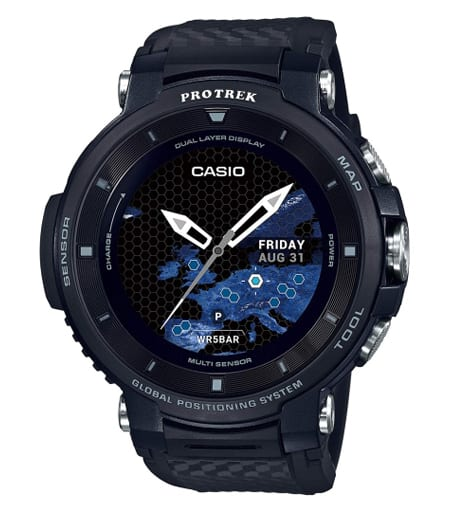CASIO Smart Outdoor Watch PRO TREK Smart (Black) [WSD-F30-BK]