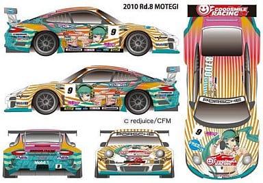 """1/43 No.1 Hatsune Miku × GSR Porsche Rd.8 Specification """"Porsche 911 GT 3 R"""""""