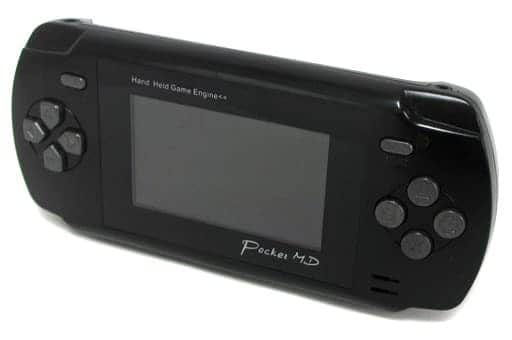 (without box&manual) Pocket MD (black color / box / no manual)