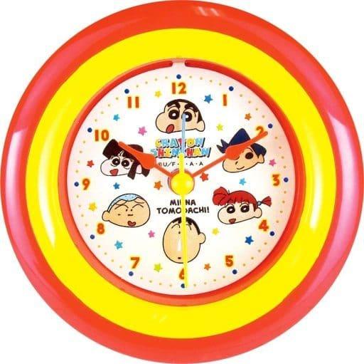 Friends Round Alarm Clock 「 Crayon Shin-chan 」