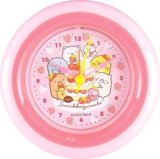 Ichigo Fair Round Alarm Clock 「 Sumikko Gurashi 」