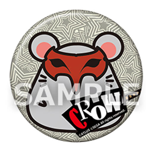 """Akechi Goro Picaresque Mouse can badge """"Persona 5"""""""