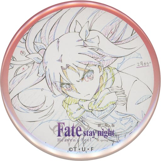 Rin Tohsaka (Diagonal) 「 Theater Fate/stay night [Heaven's Feel] III. spring song original picture metal badge 」 AnimeJapan 2021 goods