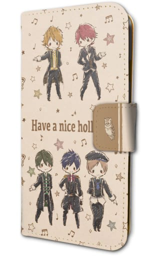 SHONEN HOLLYWOOD Graph Art Design Notebook Smartphone Case (for iPhones 6/6 s / 7 / 8) 「 SHONEN HOLLYWOOD - HOLLY STAGE FOR 50 - 」