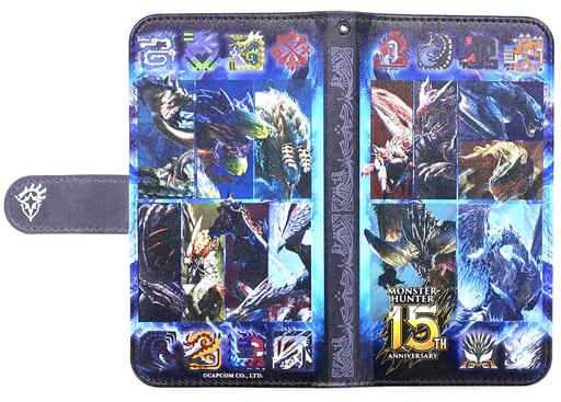 "Successive main monster notebook type smartphone case ""Monster Hunter 15TH ANNIVERSARY Shop"""