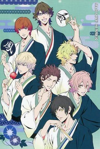 HE ★ VENS Maki Fujioka Draw Oroshi Magi Love Summer Postcard 「 Movie Version Utano Prince Sama Magi Love Kingdom 」 tenth Week Visitor Benefits