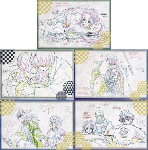 "Meeting post card set A (Class 5) """" Devil blade x ufotable DINING 6th season """""