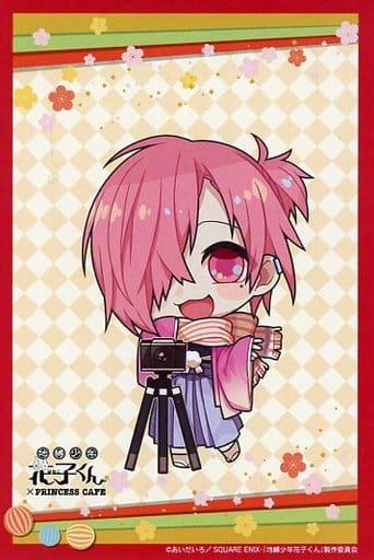 Mitsuba Sosuke Limited Postcard 「 Toilet-Bound Hanako-kun ×PRINCESS CAFE 」 Goods Purchase benefits