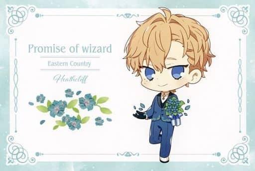 Heathcliff Original Postcard 「 Wizard's Promise ×SWEETS PARADISE 」 Goods Purchase benefits